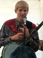 Robert at Garland Days, September 2006